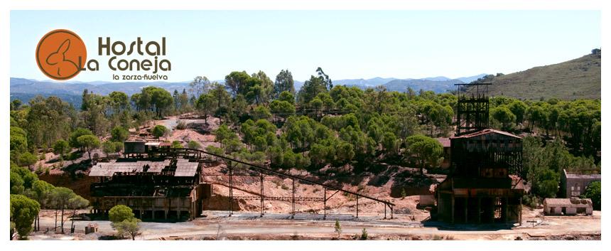 Hostal La Coneja - La Zarza - Andévalo de Huelva - Antiguas instalaciones de la mina