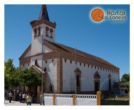 Hostal La Coneja - La Zarza - Andévalo de Huelva - Iglesia