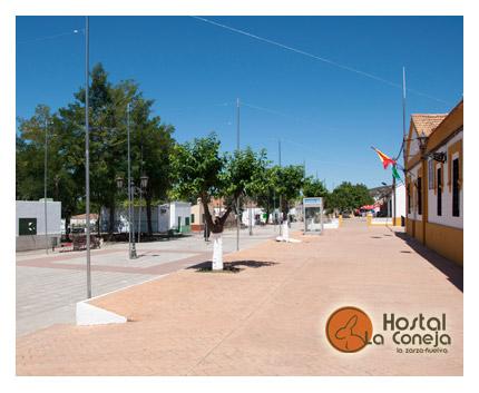 Hostal La Coneja - La Zarza - Andévalo de Huelva - Paseo